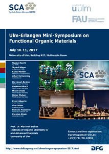 Poster - 1st Ulm-Erlangen Mini-Symposium