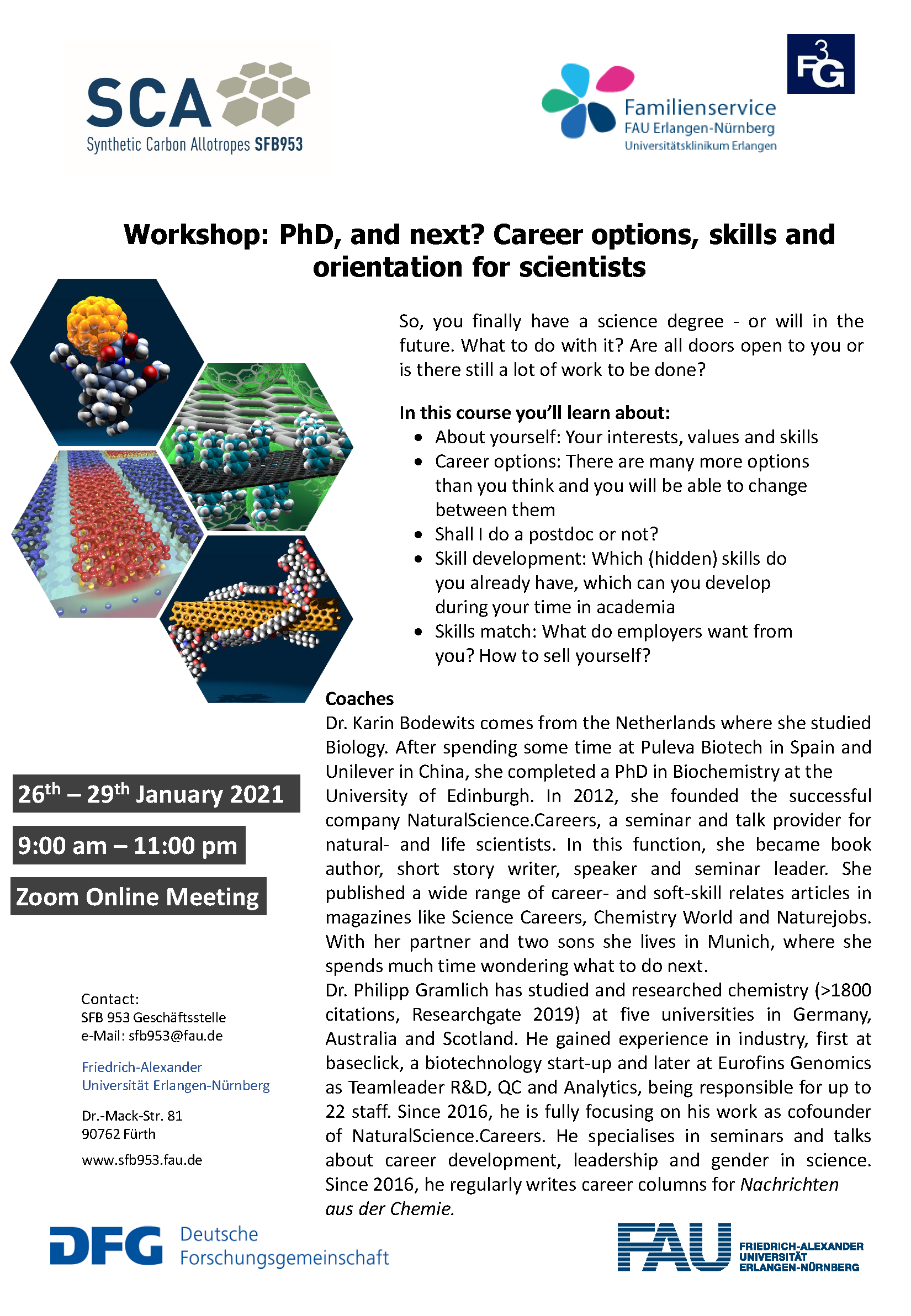 """Poster """"Workshop: Phd, and next?"""""""